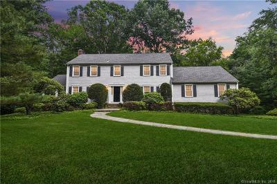 New Canaan Single Family Home For Sale: 166 Pocconock Trail