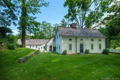 Greenwich Single Family Home For Sale: 640 Round Hill Road