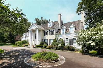 New Canaan Single Family Home For Sale: 55 Beacon Hill Lane