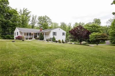 Ridgefield Single Family Home For Sale: 497 Danbury Road