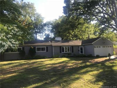 Cheshire Single Family Home For Sale: 187 Elmwood Drive