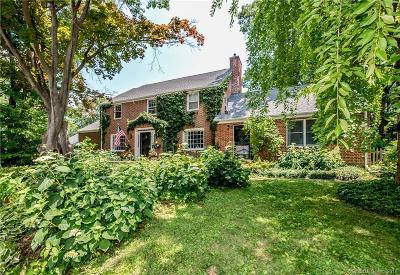 West Hartford Single Family Home For Sale: 380 Auburn Road