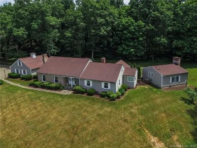 Woodbury Single Family Home For Sale: 14 East Hill Road