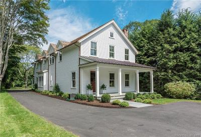 New Canaan Single Family Home For Sale: 335 Jelliff Mill Road