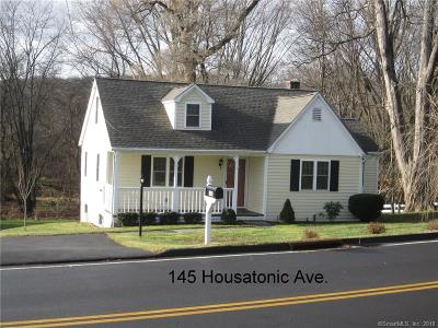 New Milford Single Family Home For Sale: 145 Housatonic Avenue