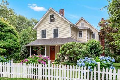Darien Single Family Home For Sale: 87 West Avenue