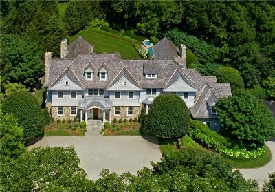 Greenwich CT Single Family Home For Sale: $6,450,000