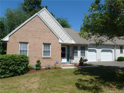 South Windsor Condo/Townhouse For Sale: 33 Shares Lane #33