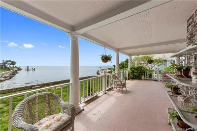 Greenwich Single Family Home For Sale: 196 Shore Road