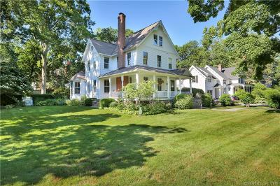 Greenwich Single Family Home For Sale: 19 Hendrie Avenue