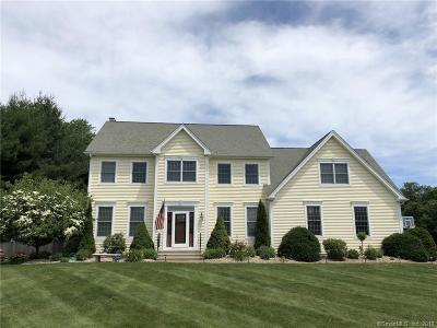 Tolland County, Windham County Single Family Home For Sale: 29 Clearbrook Drive