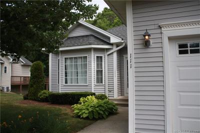 Beacon Falls Condo/Townhouse For Sale: 111 Pondview Circle #111