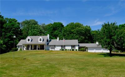 Cheshire Single Family Home For Sale: 780 Bethany Mountain Road