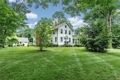 Ridgefield Single Family Home For Sale: 83 West Lane