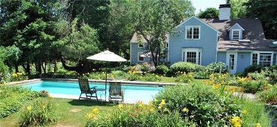 Darien Single Family Home For Sale: 21 Old Farm Road