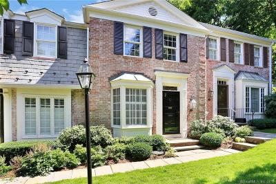 New Canaan Condo/Townhouse For Sale: 312 Elm Street #2