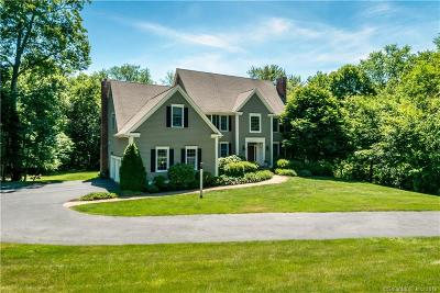 Simsbury Single Family Home For Sale: 25 Orchard Lane