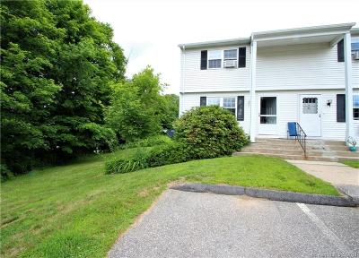 Tolland County Condo/Townhouse For Sale: 80 Wellswood Road #25