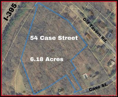 Norwich Residential Lots & Land For Sale: 54 Case Street