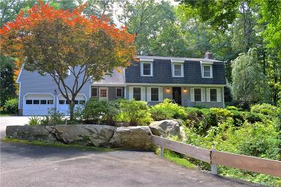 Stamford Single Family Home For Sale: 93 Hunting Ridge Road