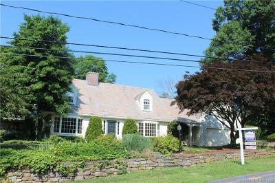 West Hartford Single Family Home For Sale: 60 Hillsboro Drive