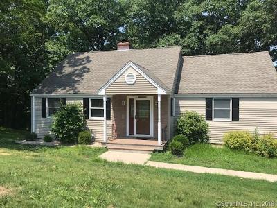 Plainville Single Family Home For Sale: 43 Ledge Road
