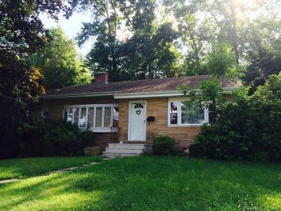 West Hartford Single Family Home For Sale: 81 Selden Hill Drive