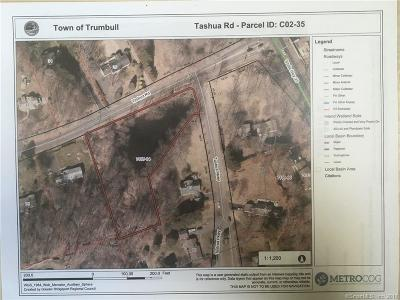 Trumbull Residential Lots & Land For Sale: Lot Tashua Road