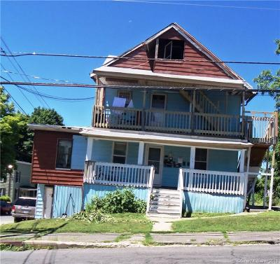 Waterbury Multi Family Home For Sale: 199 Hill Street