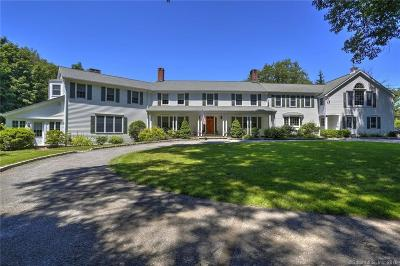 Wilton Single Family Home For Sale: 110 Old Belden Hill Road