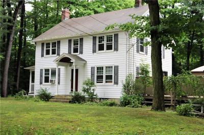 Simsbury Single Family Home For Sale: 432 Hopmeadow Street