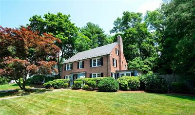 West Hartford Single Family Home For Sale: 28 Stratford Road