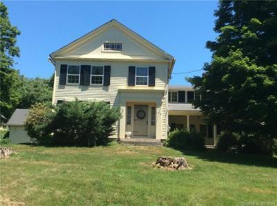 Woodbury Single Family Home For Sale: 786 Washington Road