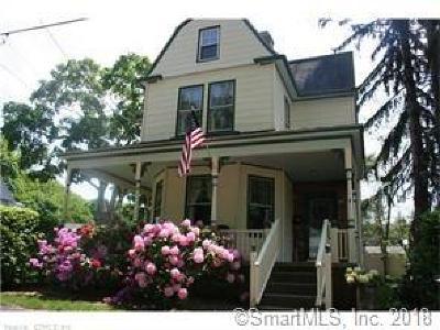 Norwich Single Family Home For Sale: 4 Washington Place