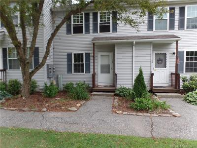 Tolland County Condo/Townhouse For Sale: 745 Merrow Road #130