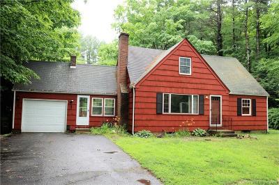 Simsbury Single Family Home For Sale: 438 Hopmeadow Street