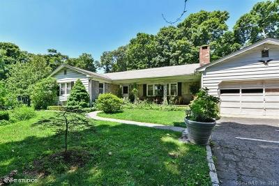 Norwalk Single Family Home For Sale: 429 Flax Hill Road