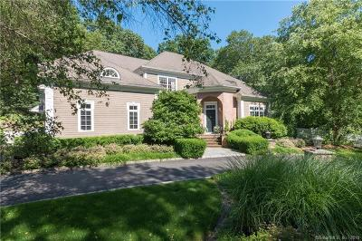 Darien Single Family Home For Sale: 16 Circle Road