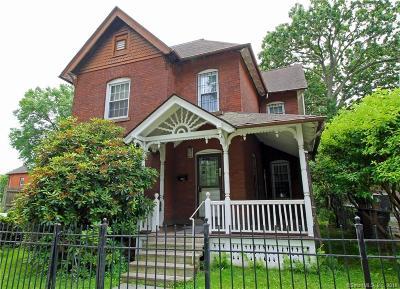 Hartford Single Family Home For Sale: 135 Ashley Street