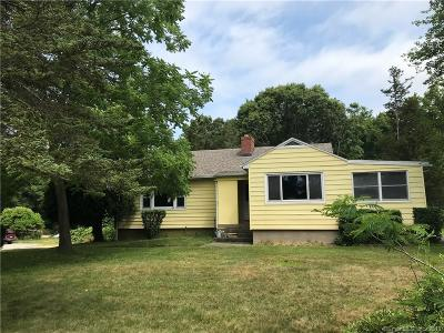 Groton Single Family Home For Sale: 266 Fort Hill Road