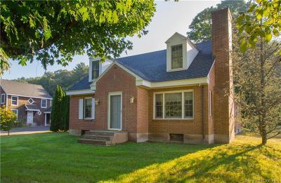 Simsbury Single Family Home For Sale: 52 East Weatogue Street