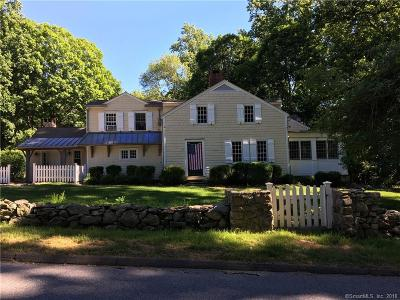 Wilton Single Family Home For Sale: 75 Honey Hill Road