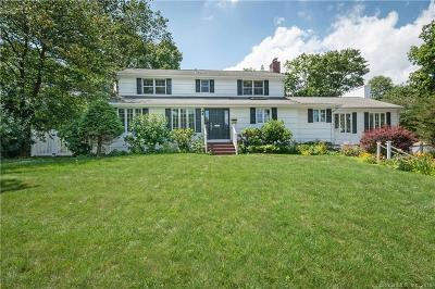 New Canaan Single Family Home For Sale: 60 Field Crest Road
