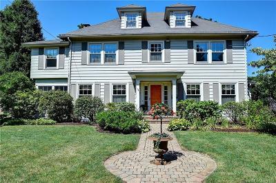 West Hartford Single Family Home For Sale: 103 Quaker Lane North