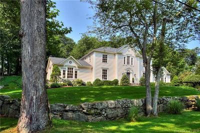 Darien Single Family Home For Sale: 10 Dogwood Lane