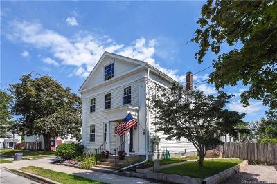 Stonington Single Family Home For Sale: 15 Church (Mystic)