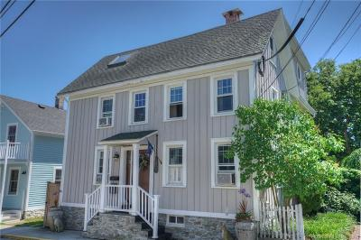 Stonington Single Family Home For Sale: 19 Diving Street