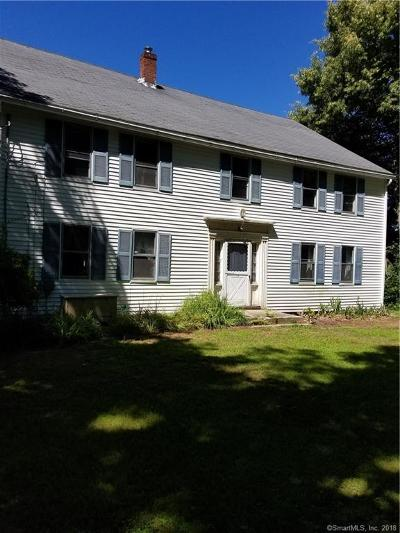 Woodstock Single Family Home For Sale: 1009 Route 169