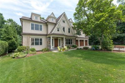 Darien Single Family Home For Sale: 2 Eddy Lane