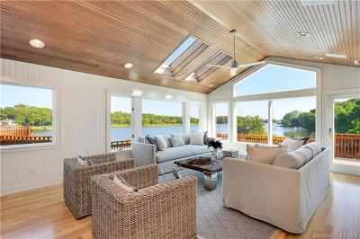 Greenwich CT Single Family Home For Sale: $6,495,000